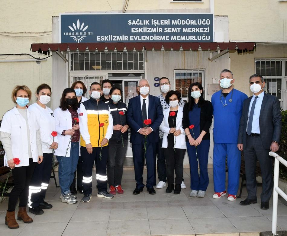 Başkan Selvitopu sağlık emekçilerini unutmadı!