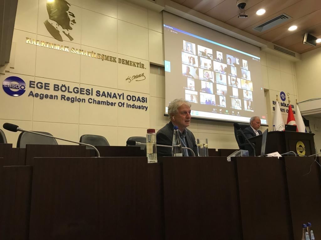EBSO'dan Uzaktan Erişimle Meclis Toplantısı