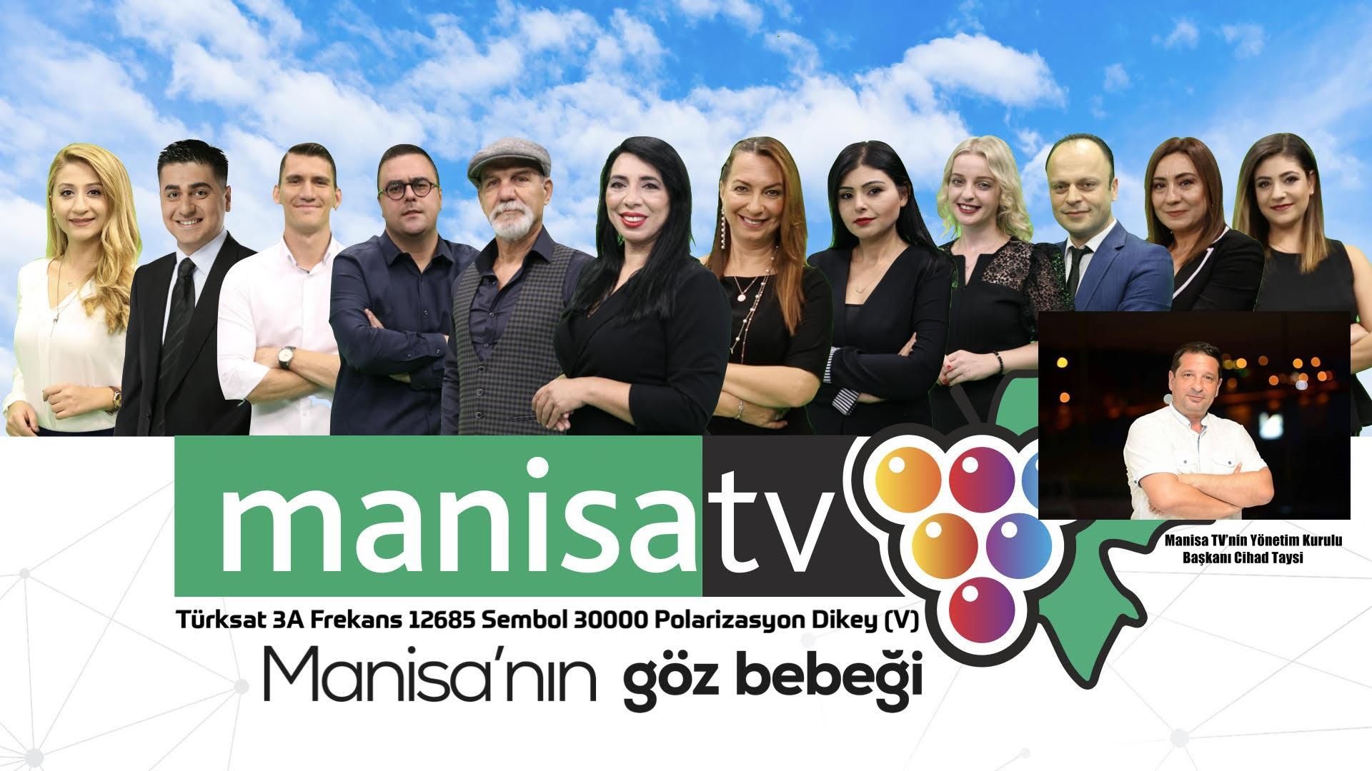 MANİSA TV YAYIN HAYATINA BAŞLADI.