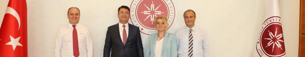 MEV Güzelbahçe Koleji ile İYTE  Bilimsel İşbirliği Protokolü İmzaladı