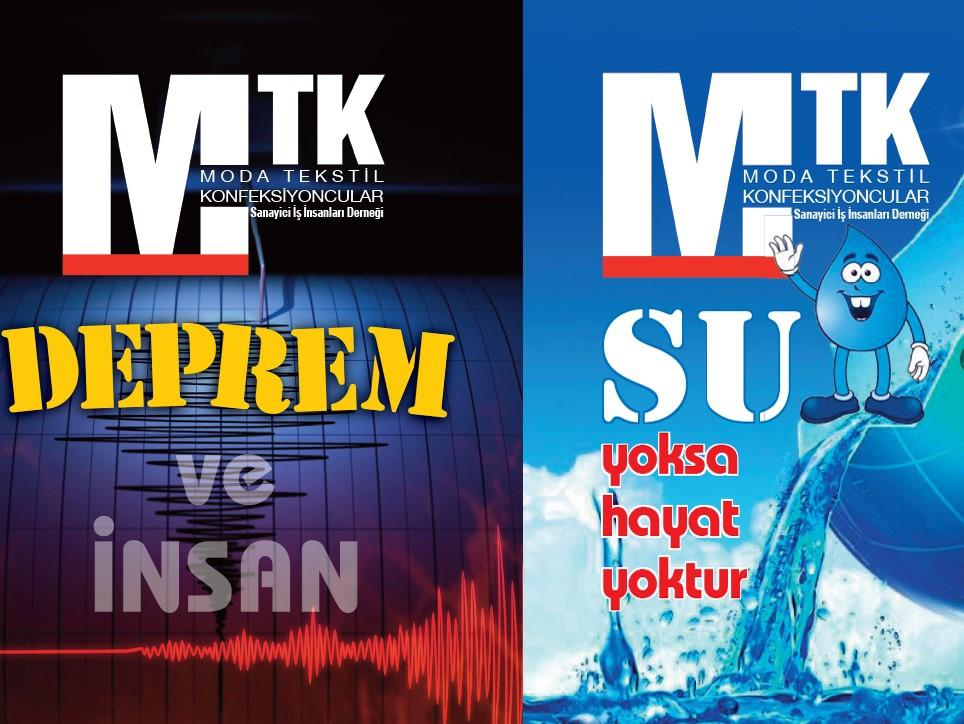 MTK'dan deprem ve su broşürü
