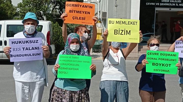 RES kurmak isteyen Güral Porselen Firması protesto edildi.