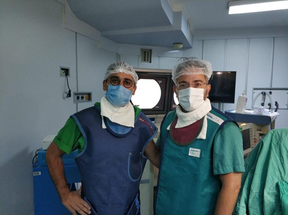 """Tepecik Hastanesi'nde İlk """"Mesane Pili"""" Operasyonu Gerçekleştirildi"""